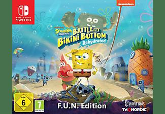 REACONDICIONADO Nintendo Switch Bob Esponja Battle for Bikini Bottom Rehydrated (Ed. F.U.N)