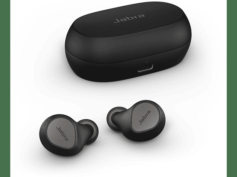 JABRA Elite 7 Pro, mit anpassbarem ANC, In-ear Kopfhörer Bluetooth Titanschwarz