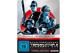 Terminator 2 - Judgment Day 4K Ultra HD Blu-ray + 3D Blu-ray + Blu-ray