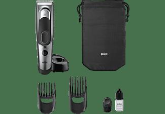 Cortapelos - Braun HC5090, 2 Peines ajustables, Lavable, 17 Ajustes, Soporte de carga, Negro
