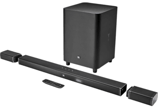 JBL Bar 5.1, Lautsprecher System, Schwarz