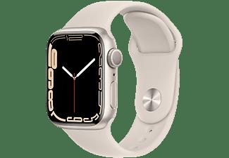 APPLE Watch Series 7 GPS 41mm Aluminiumgehäuse, Sportarmband, Polarstern