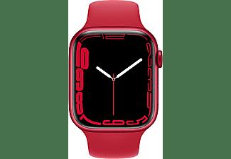 APPLE Watch Series 7 GPS + Cell 45mm Aluminiumgehäuse, Sportarmband, PRODUCT(RED)/Rot