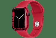 APPLE Watch Series 7 GPS 41mm Aluminiumgehäuse, Sportarmband, PRODUCT(RED)/Rot