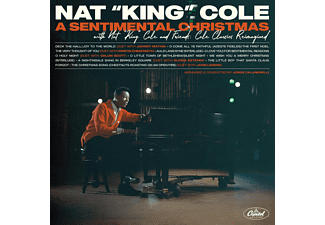 Nat King Cole - A Sentimental Christmas With Nat King Cole And Fri  - (Vinyl)