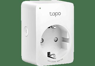 TP-LINK Mini Smart WLAN-Steckdose Tapo P100, 2.4 GHz, BT, Weiß