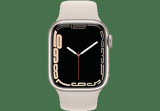 APPLE Watch Series 7 GPS, 41mm Yıldız Işığı Alüminyum Kasa...