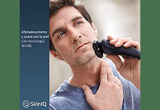 Afeitadora - Philips S5000 S5589/38, Tecnología SkinIQ con sensor de barba, Afeitado potente y suave, Marrón