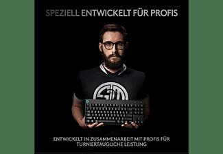 LOGITECH Gaming Tastatur PRO, TKL, GX-BLUE, schwarz, USB, DE (920-009389)