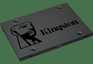 "Disco duro SSD 480 GB - Kingston Technology A400, 2.5"", SSD, Serial ATA III, 500 MB/s, Negro"