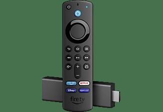 AMAZON Fire Stick 4K mit Alexa-Sprachfernbedienung Streaming Stick, Schwarz