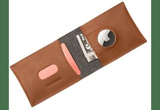 FIXED Geldbörse Wallet für AirTag, Braun