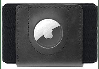 FIXED Geldbörse Tiny Wallet für AirTag, Schwarz