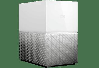 Nube personal - WD My Cloud Home Duo, 12TB (2x6TB), Copias de Seguridad Automáticas, Windows y Mac, Blanco