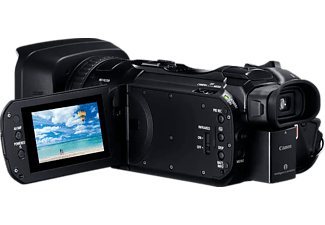 CANON Camcorder Legria HF G60, 8.29 MP, 15x Zoom, 4K25p, EVF, 3.0 Zoll Touch LCD, Schwarz
