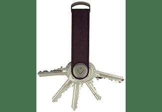VALENTA Schlüsseletui Key Organizer, Vintage Burgundy Rot
