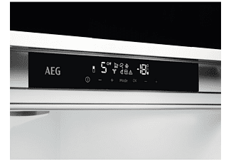 Frigorífico americano - AEG RMB76121NX, 570 l, No Frost, Iluminación LED, 178 cm, Inox