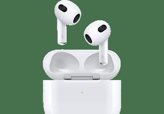 APPLE AirPods (mit MagSafe Ladecase), In-ear Kopfhörer Bluetooth Weiß