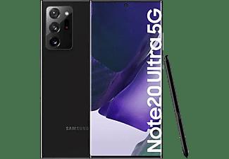 "Móvil - Samsung Galaxy Note 20 Ultra 5G, Negro, 256GB, 12GB RAM, 6.9"" WQHD+, Exynos 990, 4500 mAh, Android"
