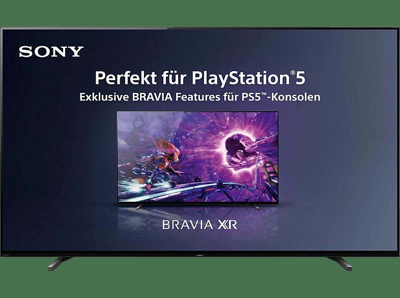 Abbildung SONY XR-55A80J OLED TV (Flat, 55 Zoll / 139 cm, 4K, SMART TV, Google TV)