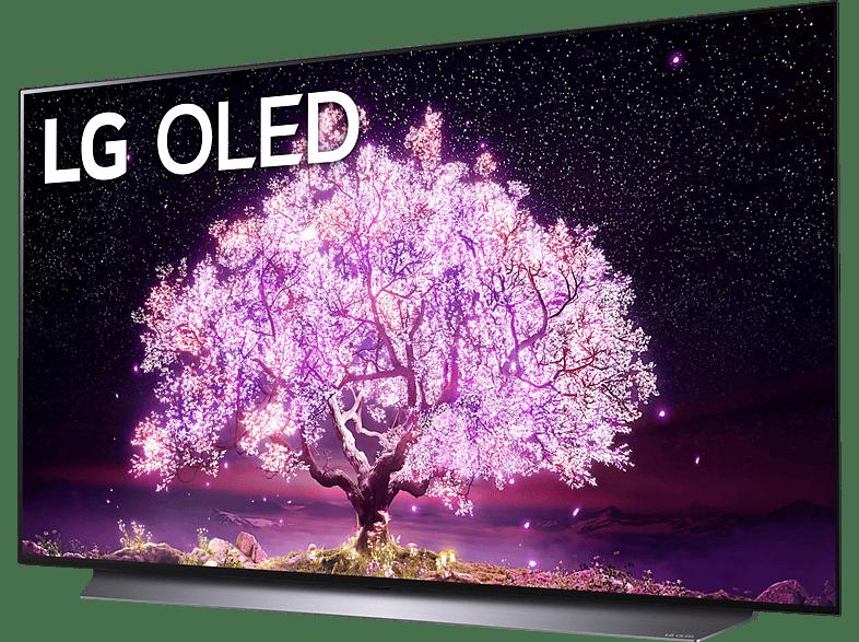 Abbildung LG OLED48C17LB OLED TV (Flat, 48 Zoll / 121 cm, UHD 4K, SMART TV)