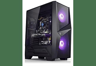 KIEBEL Raptor, Gaming PC mit Ryzen 5 Prozessor, 16 GB RAM, 512 GB SSD, GeForce GTX 1660 Super, 6 GB