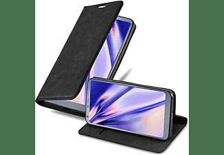 CADORABO Klappbare Handy Schutzhülle - Hülle - mit Standfunktion und Kartenfach, Bookcover, LG, G6, NACHT SCHWARZ