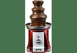 GADGY 3-Stufiger Schokoladenbrunnen für Schokofondue mit 750g Kapazität aus rostfreiem Stahl Schokoladenbrunnen