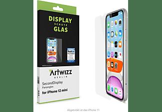 ARTWIZZ SecondDisplay Displayschutzglas(für Apple iPhone 12 Mini)