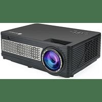 LA VAGUE LV-HD400 Projector LED full HD black Full HD-Beamer(Full-HD