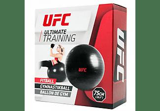 UFC FITBALL Gymnastikball 75cm Schwarz Schwarz, UHA-69160