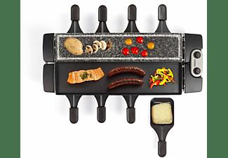 LIVOO Raclette-Grill verstellbarer Grill Granit Aluminium DOC220 Raclette