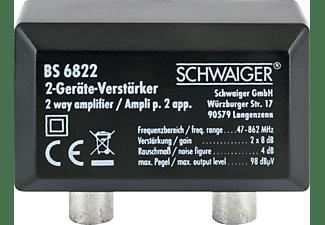 SCHWAIGER -BS6822 531- Zweigeräteverstärker (2x 8 dB)