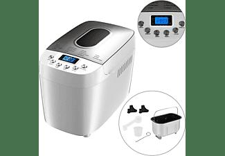 AREBOS Brotbackautomat mit 15 Programmen 850W (Brotbackautomat, Weiß)