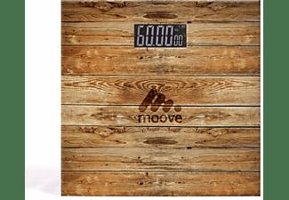 LIVOO Personenwaage digitale Waage 180 kg DOM382BO Holz-Optik Personenwaage
