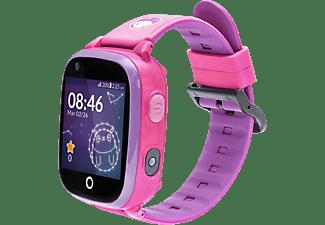 SOYMOMO Space 4G Pink Smartwatch silicone, Rosa