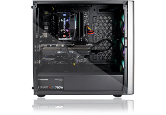 DCL24.DE Level 20 RGB, Gaming PC, 32 GB RAM, 1000 GB SSD, 2000 GB HDD, AMD Radeon RX6700XT, 12 GB