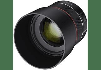 SAMYANG AF 85mm F1,4 EF für Canon EF 1,4 (Objektiv für Canon EF-Mount, Schwarz | Silber)