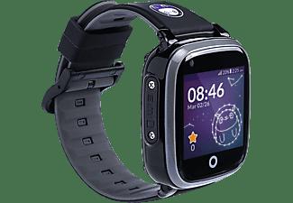 SOYMOMO Space 4G Schwarz Smartwatch silicone, Schwarz