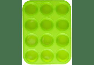 RENBERG Silikon-Backform Muffinform Kuchenform Teigform RB-3663 grün Backform