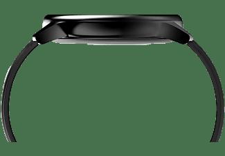 LOOKIT PSPro 45mm Multifunktion Sportuhr,  Activity Tracker Silikon, Schwarz