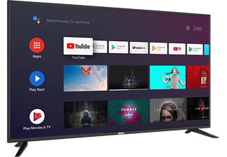 RCA RS50U2 Android TV (50 Zoll 4K Smart TV mit Google Assistant), Chromecast, HDMI, USB, WiFi, BlueTooth LED TV (Flat, 49,5 Zoll / 126 cm, UHD 4K, SMART TV, Android)