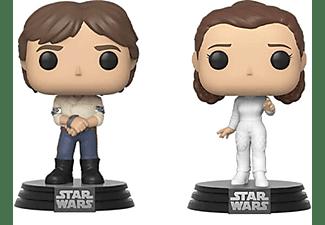 Funko Pop! Vinyl Star Wars Han Solo & Princess Leia 2 Pack