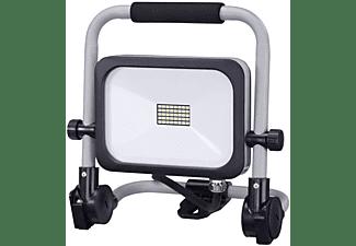 REV Klappbarer LED Baustrahler, Arbeitsleuchte, Baustellenleuchte mit 180cm Zuleitung, Scheinwerferlampe Bauleuchte, Arbeitslampe Tageslichtweiß