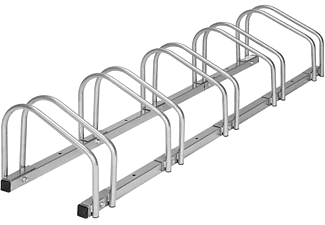 TECTAKE Fahrradständer Fahrradständer, silber