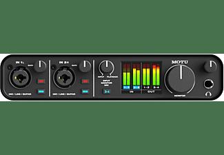 MOTU M4 USB Audio Interface Audio Interface, Schwarz