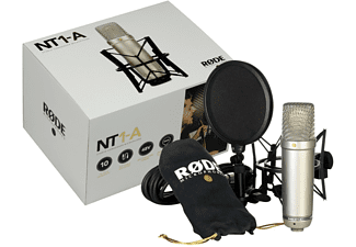 RODE NT1-A Complete Vocal Recording Solution Mikrofon Silber
