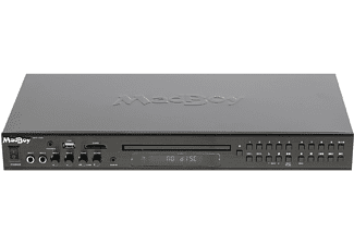 MADBOY MFP-1500 Karaoke-Player Single DVD Player, Schwarz