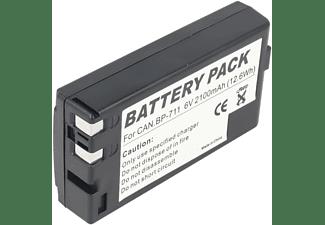 ACCUCELL Akku passend für Canon BP-711, BP-714, BP-726, 2100mAh NiMH - Nickel-Metallhydrid Akku | Camcorder-Akku, 2100 mAh