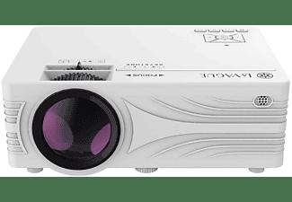 LA VAGUE LV-HD240 Wi-Fi weiß Beamer(HD-ready, 2000 Lumen
